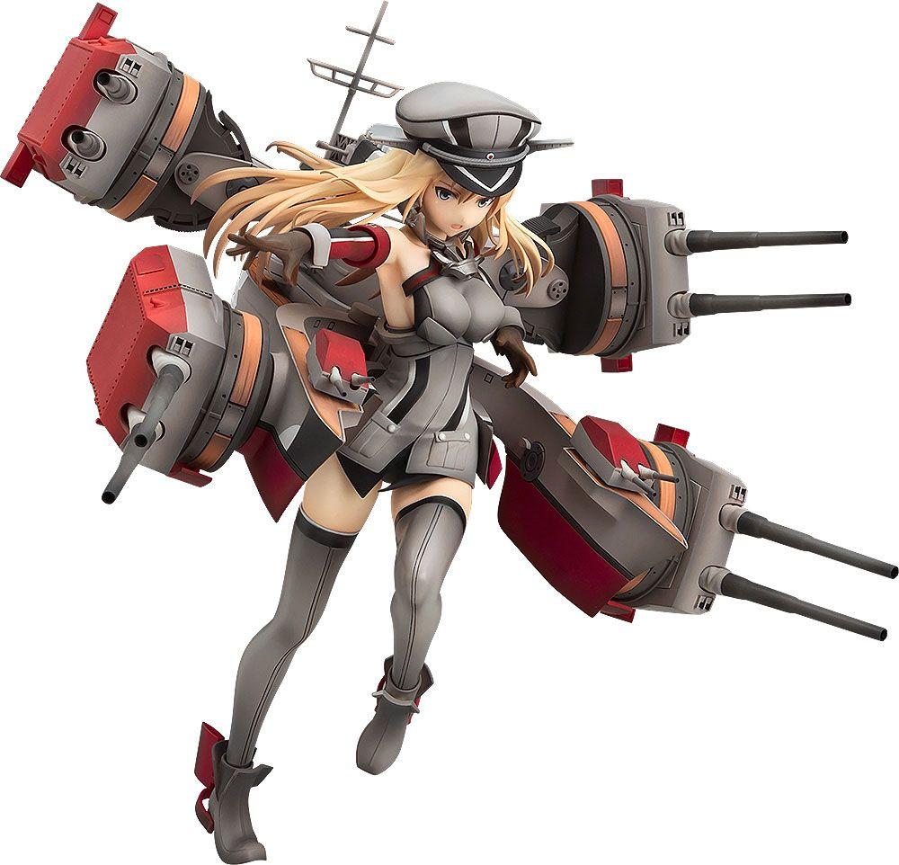 Kantai Collection Action Figure 1/8 Bismarck Kai 25 cm