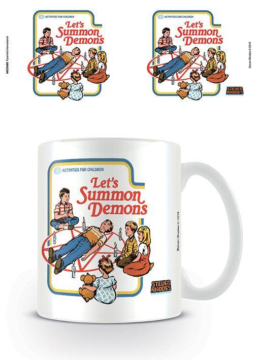 Steven Rhodes Mug Let's Summon Demons