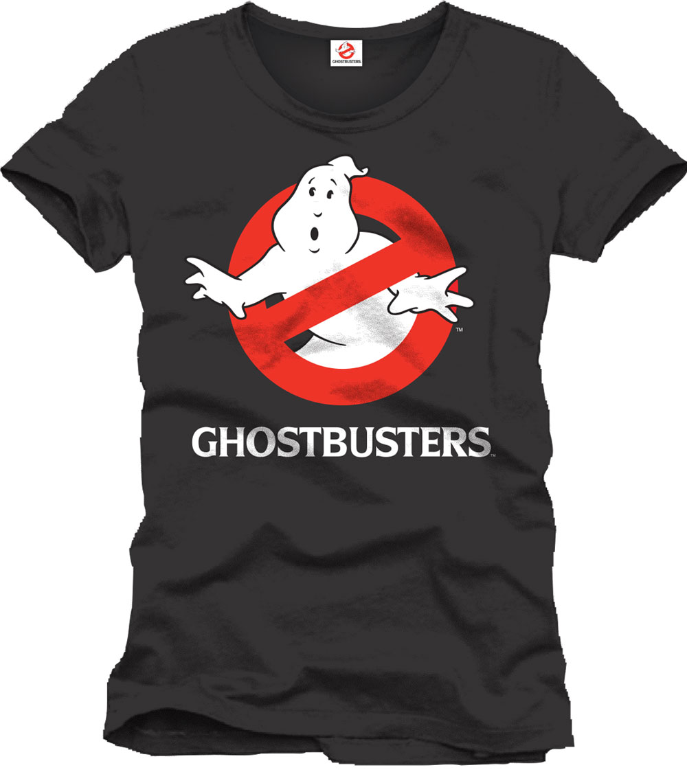 Ghostbusters T-Shirt Logo black Size M