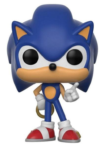 Sonic The Hedgehog POP! Games Vinyl Figure Sonic (Ring) 9 cm