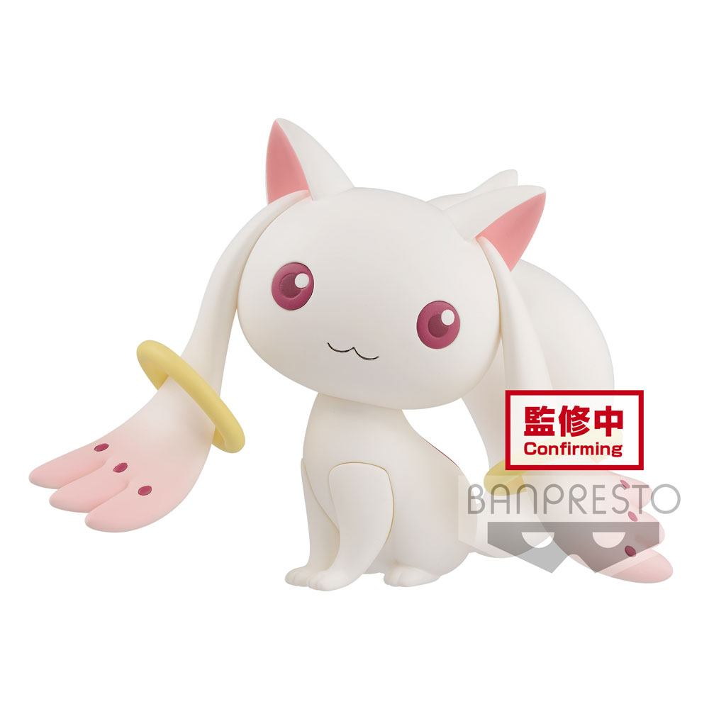 Puella Magi Madoka Magica 10th Anniversary Fluffy Puffy Mini Figure Kyubey 7 cm