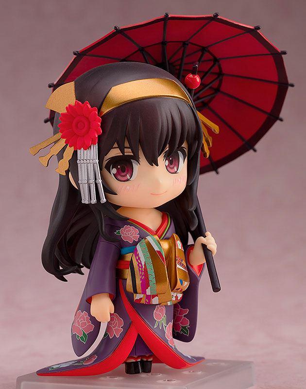 Saekano How to Raise a Boring Girlfriend Nendoroid Action Figure Utaha Kasumigaoka Kimono Ver. 10 cm