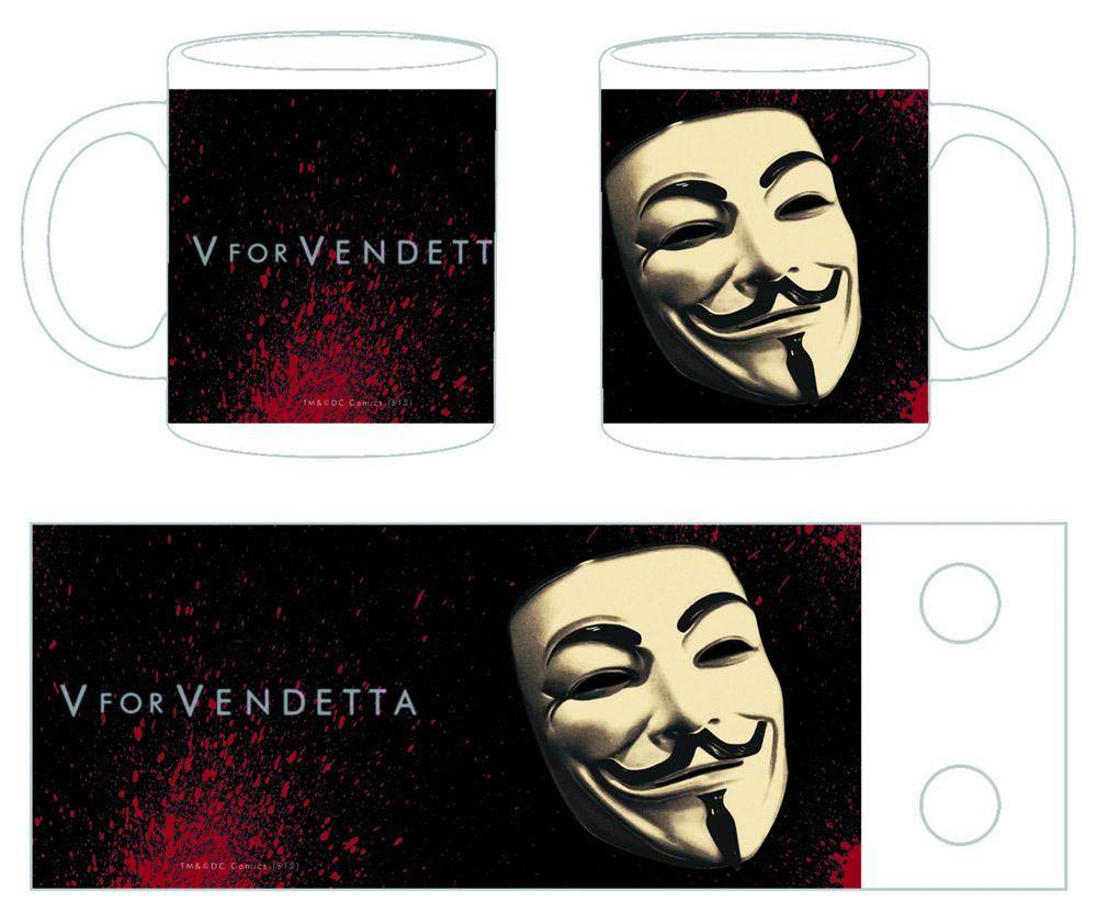 V for Vendetta Mug The Mask