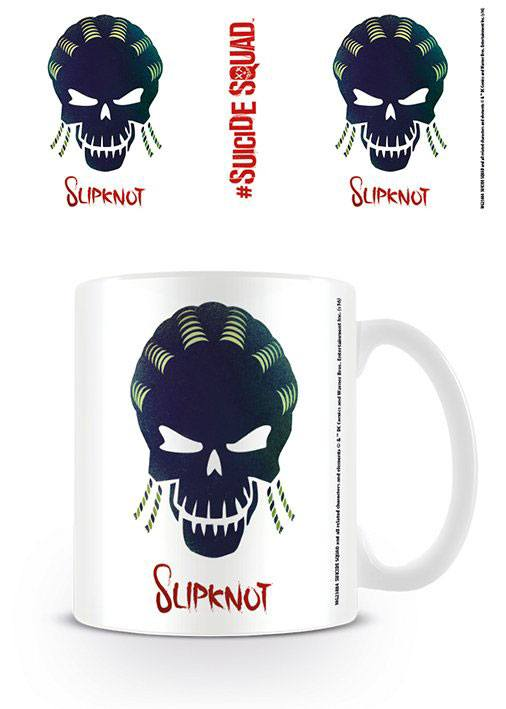 Suicide Squad Mug Slipknot Skull