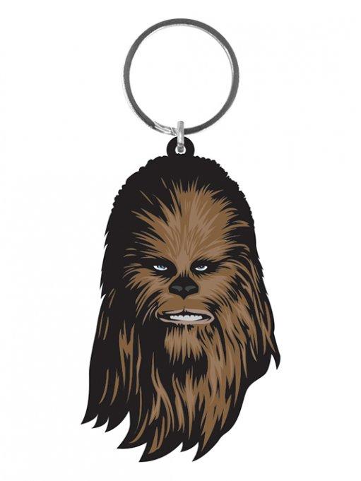 Star Wars Rubber Keychain Chewbacca 6 cm