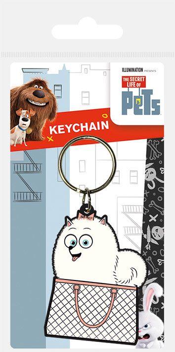 Secret Life of Pets Rubber Keychain Gidget 6 cm