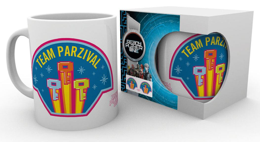 Ready Player One Mug Team Parzival