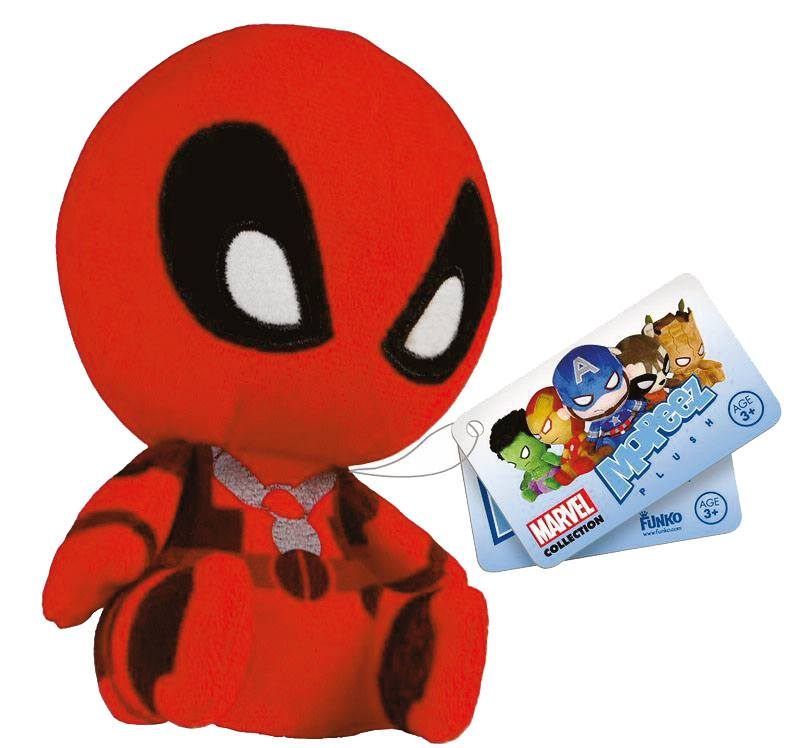 Marvel Mopeez Plush Figure Deadpool 12 cm