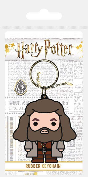 Harry Potter Rubber Keychain Chibi Hagrid 6 cm