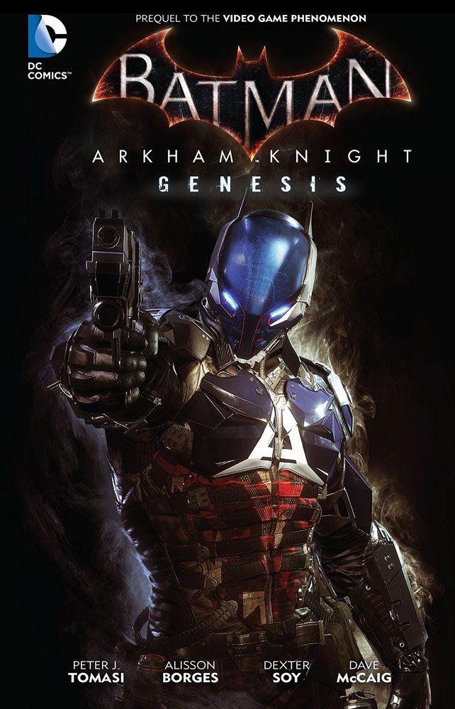 DC Comics Comic Book Batman Arkham Knight Genesis by Peter Tomasi english