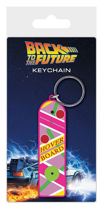 Back to the Future Rubber Keychain Hoverboard 6 cm