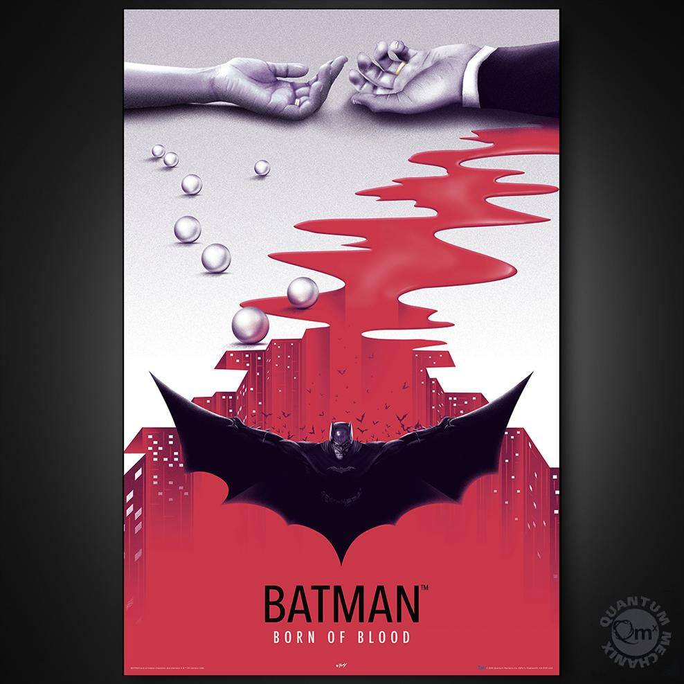 DC Comics Bombshells Art Print Batman Born In Blood 91 x 61 cm