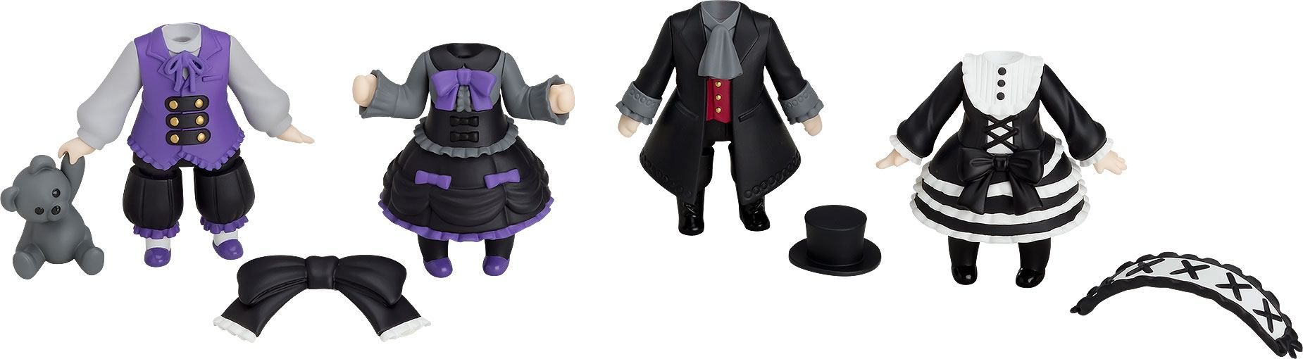 Nendoroid More 4-pack Decorative Parts for Nendoroid Figures Dress-Up Gothic Lolita
