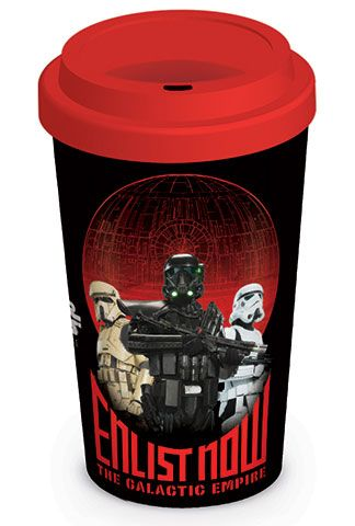 Star Wars Rogue One Travel Mug Enlist Now Case (36)