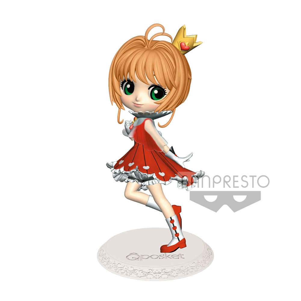 Cardcaptor Sakura Q Posket Mini Figure Sakura Kinomoto Normal Color Ver. 14 cm
