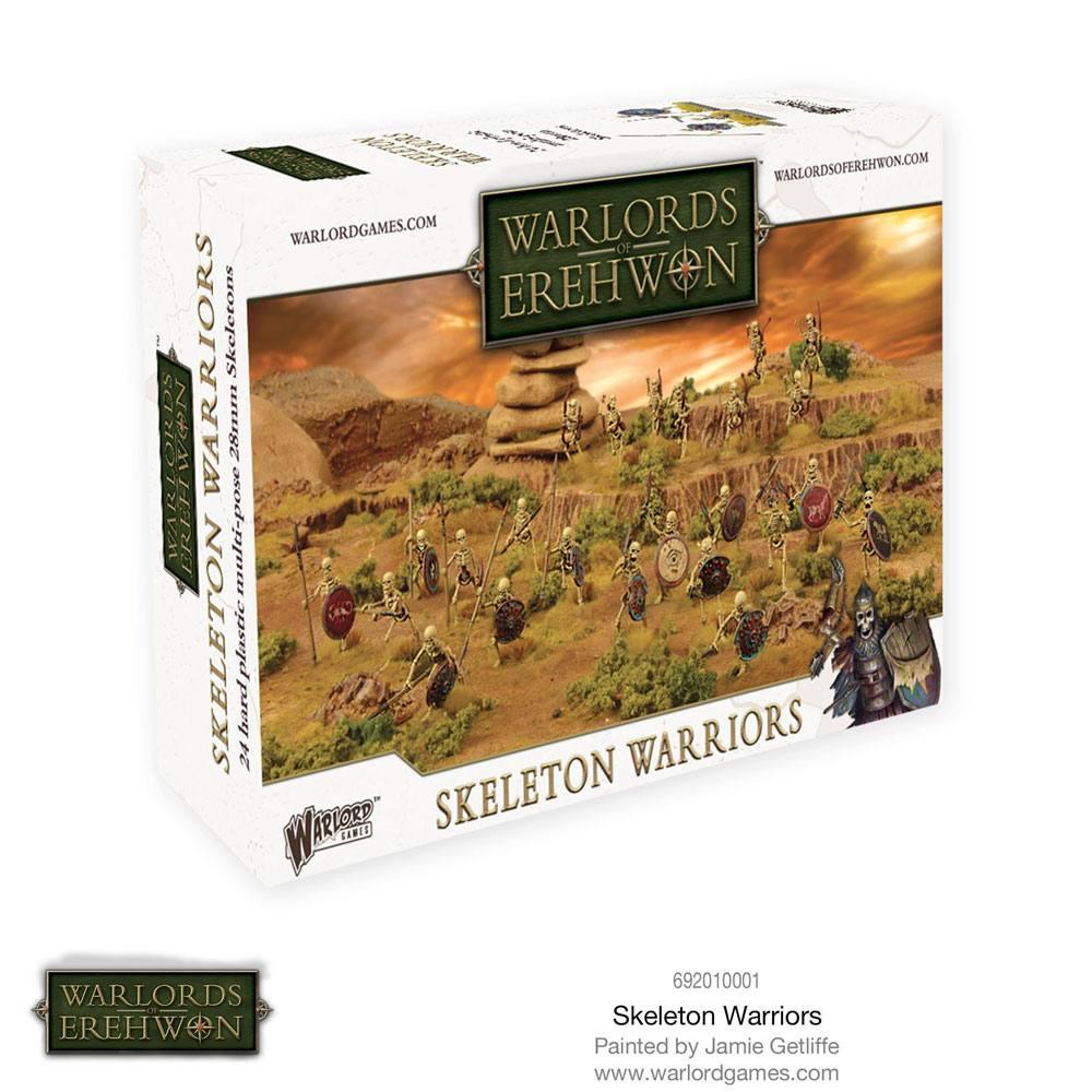 Warlords of Erehwon Miniatures Game Expansion Set Skeleton Warriors *English Version*