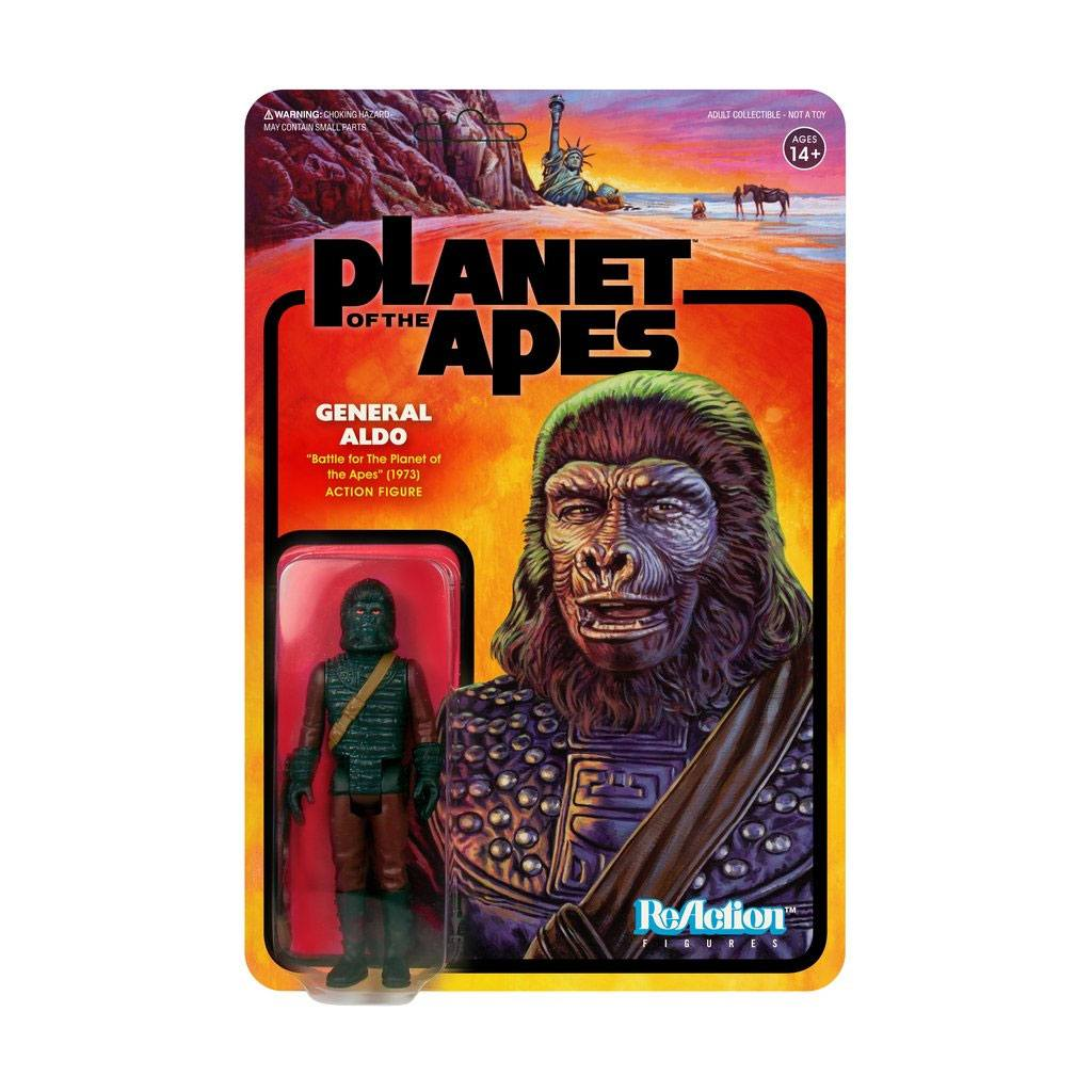 Planet of the Apes ReAction Action Figure General Aldo 10 cm