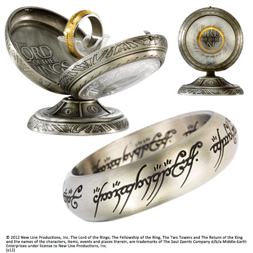 Lord of the Rings Stainless Steel Ring The One Ring (Steel) Size 08