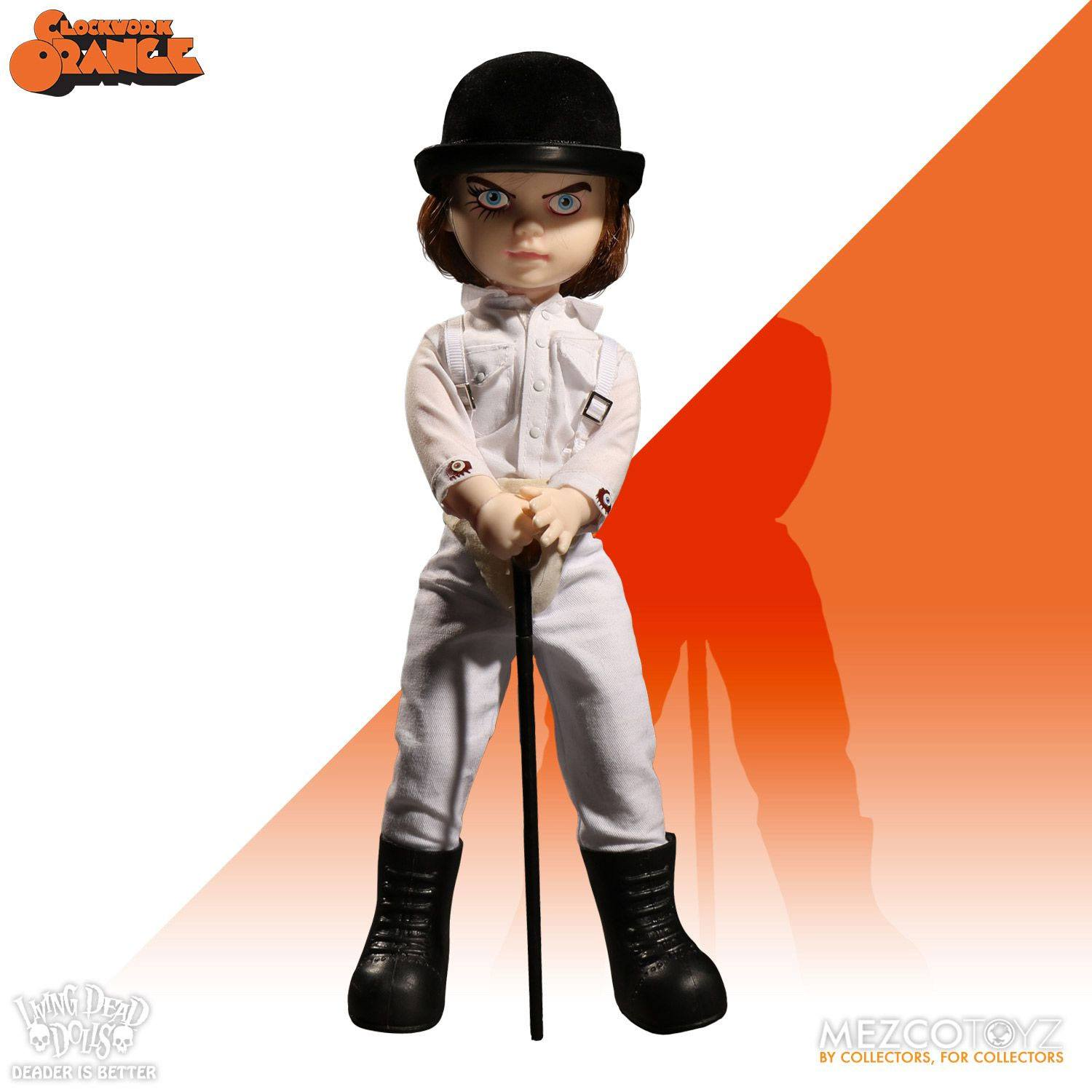 A Clockwork Orange Living Dead Dolls Doll Showtime Alex DeLarge 25 cm