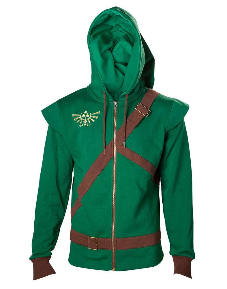 The Legend of Zelda Hooded Sweater Link Cosplay Size L