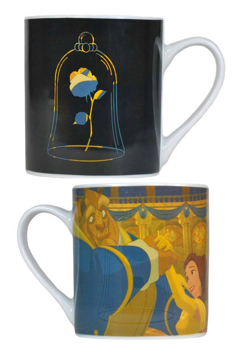Beauty and the Beast Heat Change Mug Rose