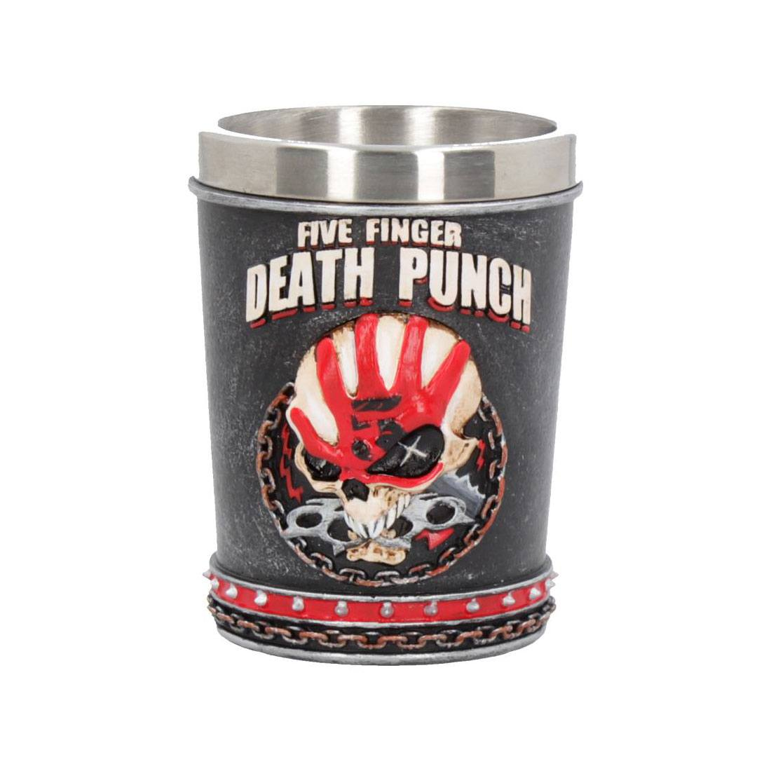Five Finger Death Punch Shot Glass Eagle Mascot