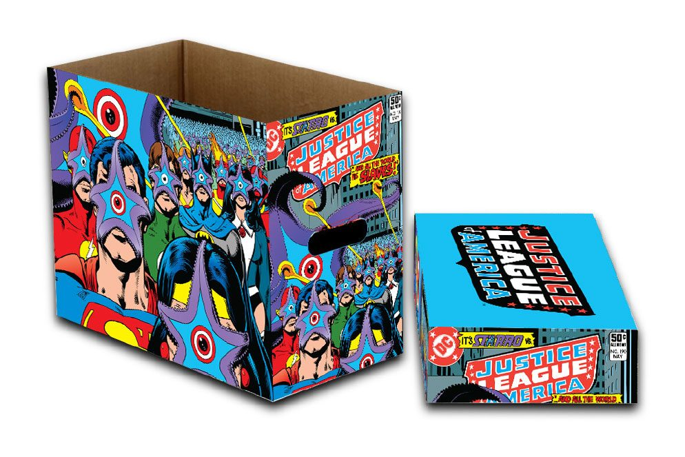 DC Comics Storage Boxes Justice League Starro Strikes 23 x 29 x 39 cm Case (5)