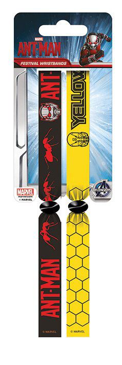 Ant-Man Festival Wristband 2-Pack Ant-Man vs. Yellowjacket