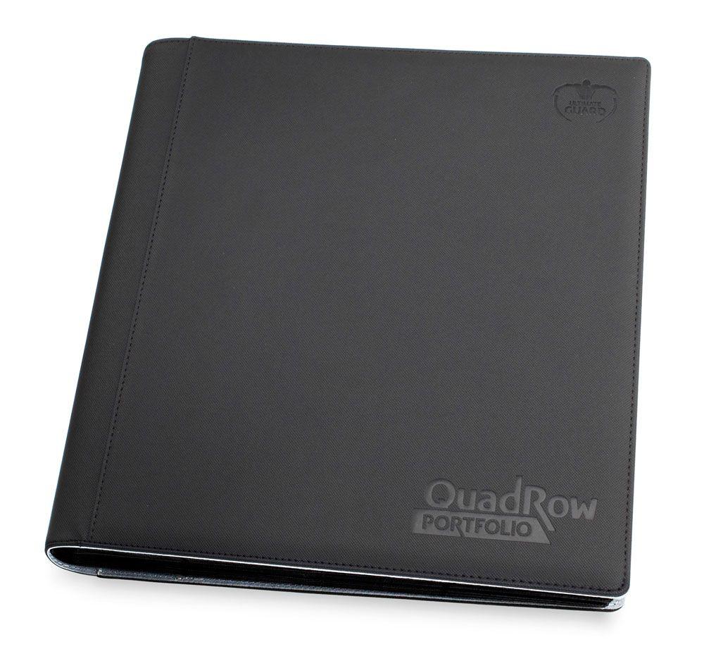Ultimate Guard 12-Pocket QuadRow Portfolio XenoSkin Black