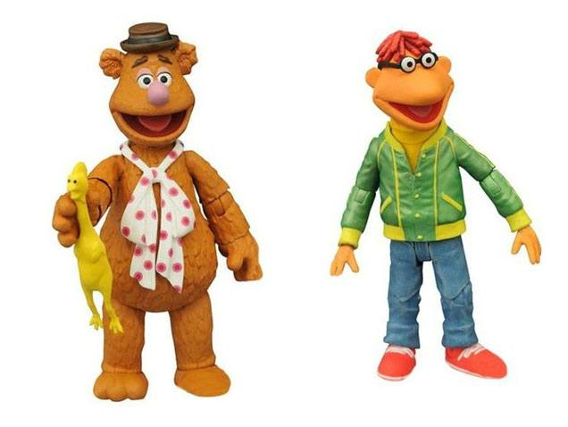 The Muppets Select Action Figures 13 cm 2-Pack Series 1 Fozzie & Scooter