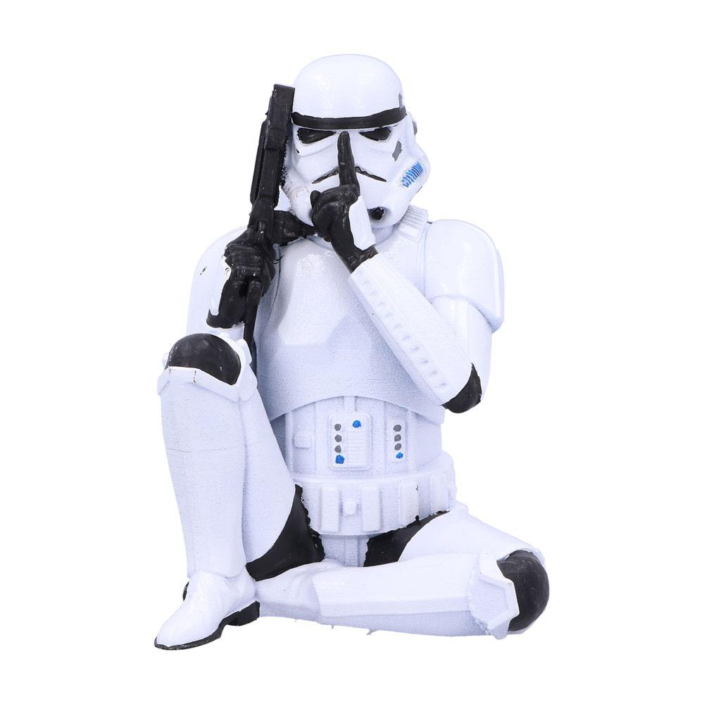 Original Stormtrooper Figure Speak No Evil Stormtrooper 10 cm