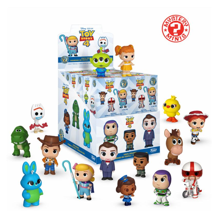 Toy Story 4 Mystery Minis Vinyl Mini Figures 6 cm Display (12)