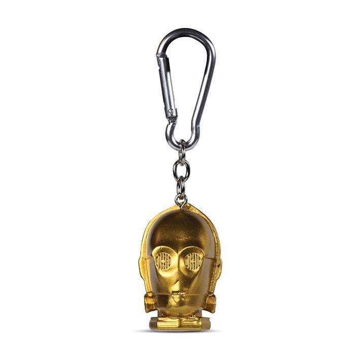 Star Wars 3D-Keychains C-3PO 4 cm Case (10)