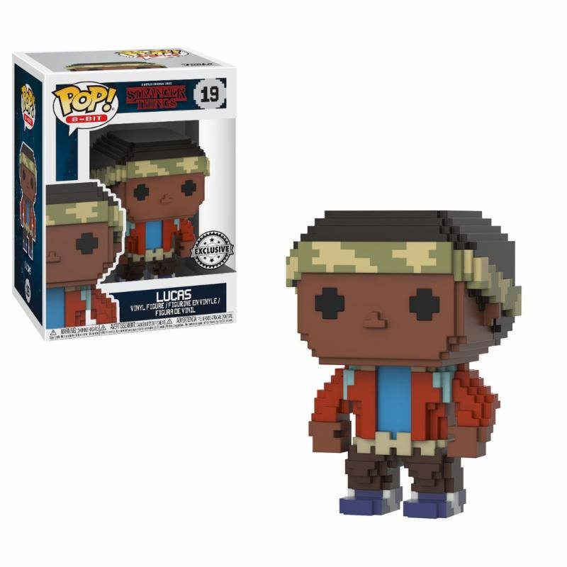 Stranger Things POP! 8-BIT Vinyl Figure Lucas 9 cm