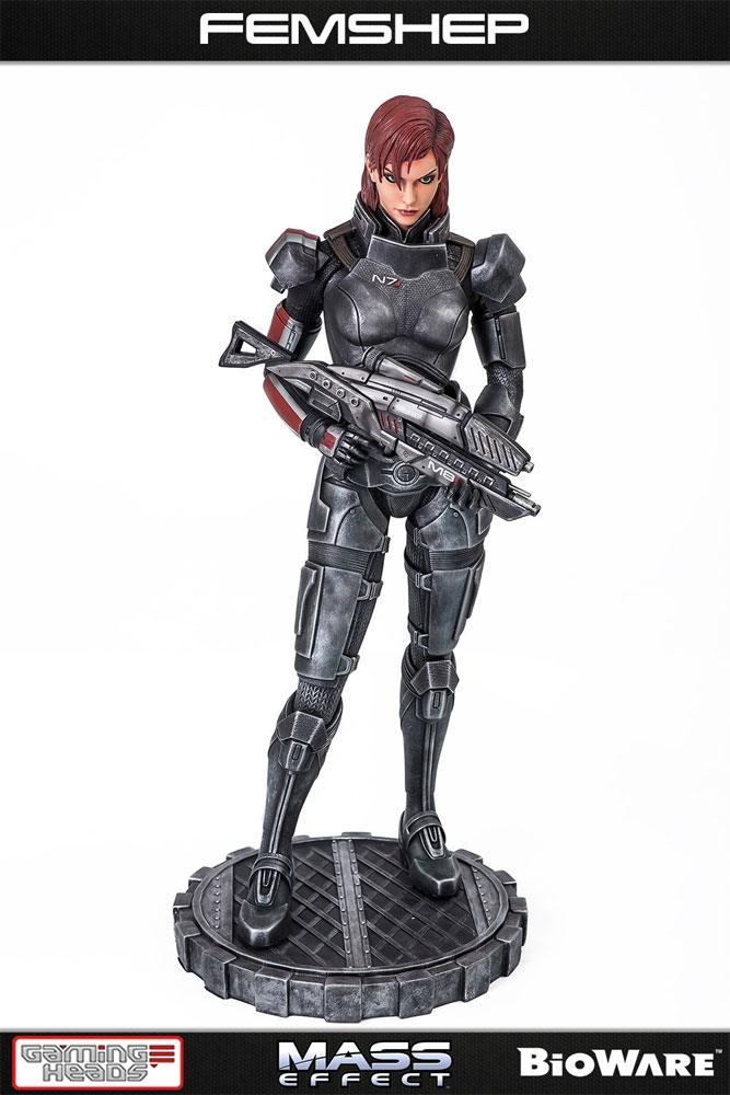 Mass Effect Statue 1/4 Femshep 51 cm