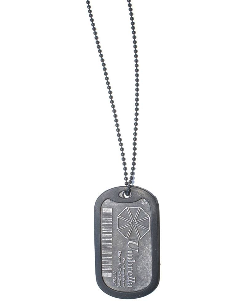 Resident Evil Dog Tag with ball chain Umbrella