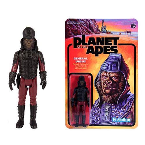 Planet of the Apes ReAction Action Figure General Ursus 10 cm --- DAMAGED PACKAGING