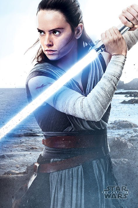 Star Wars Episode VIII Poster Pack Rey Engage 61 x 91 cm (5)