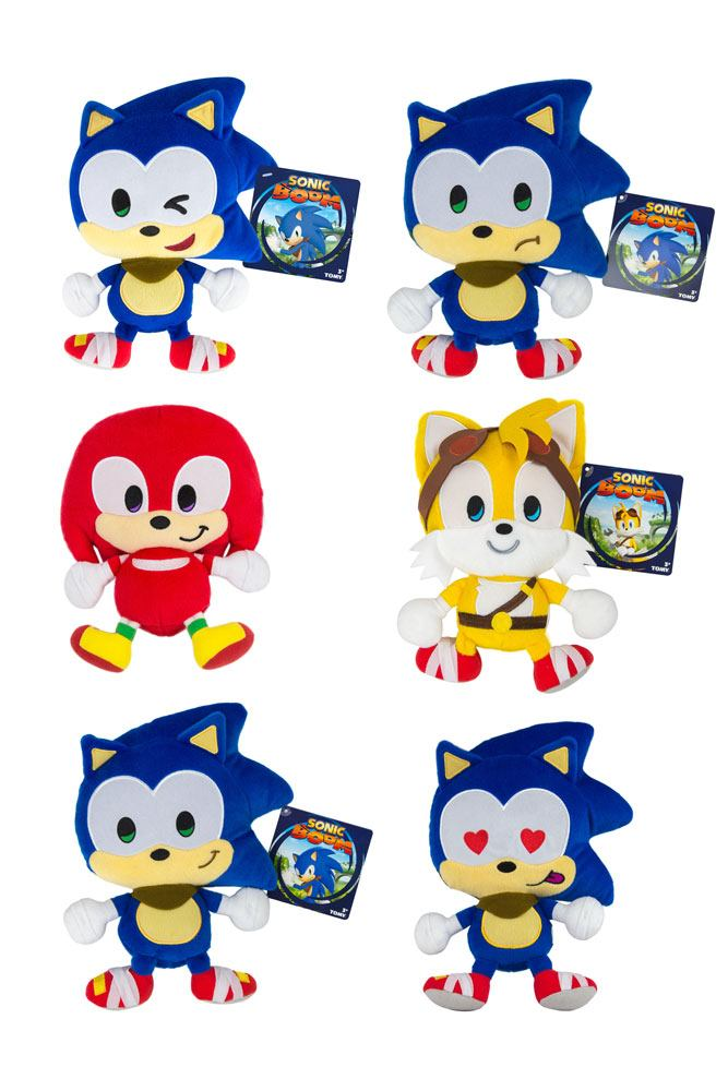 Sonic Boom Plush Figures 20 cm Emoji Assortment A7 (6)