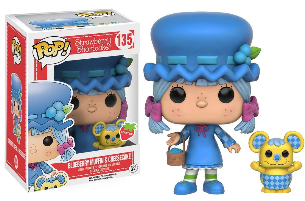 Strawberry Shortcake POP! Animation Vinyl Figure Blueberry Muffin & Cheesecake 9 cm