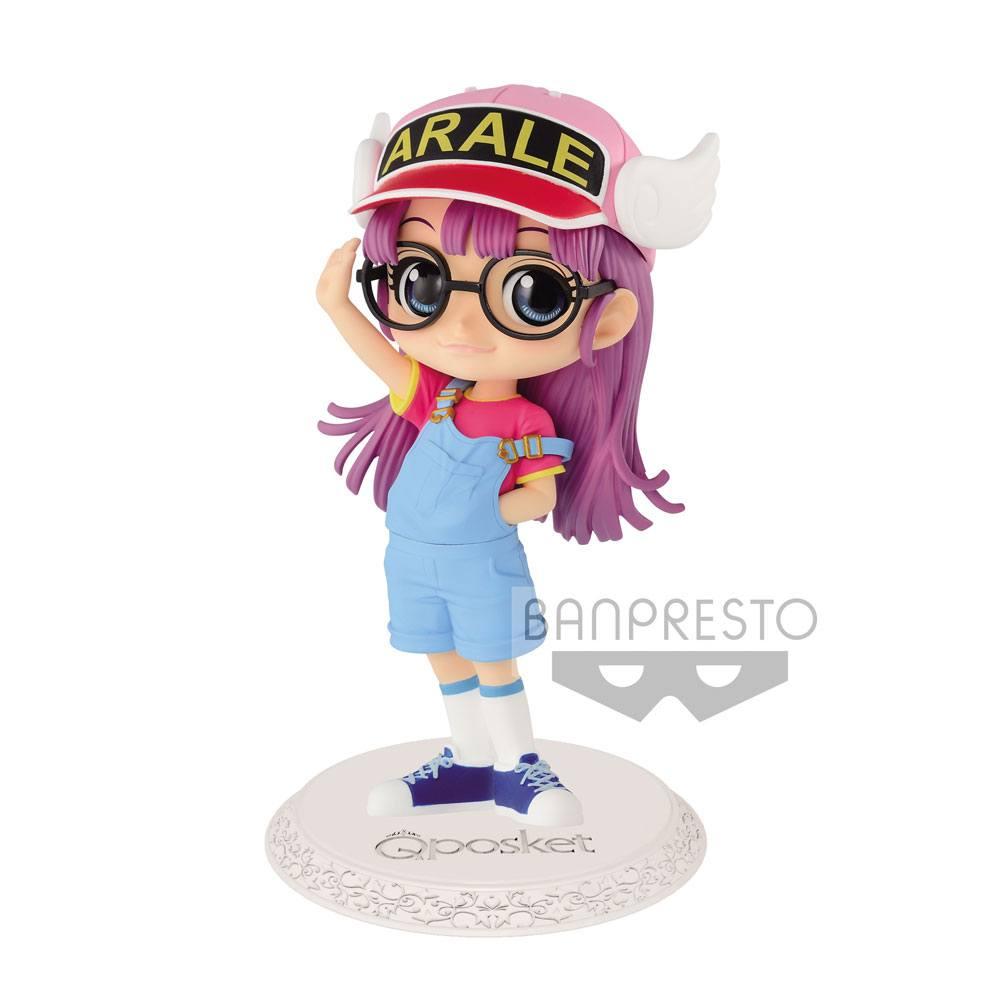 Dr. Slump Q Posket Mini Figure Arale Norimaki Ver. A 12 cm