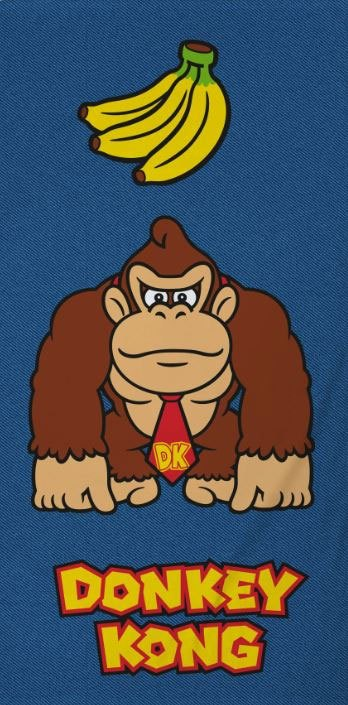 Nintendo Towel Donkey Kong Lootchest Exclusive 140 x 70 cm