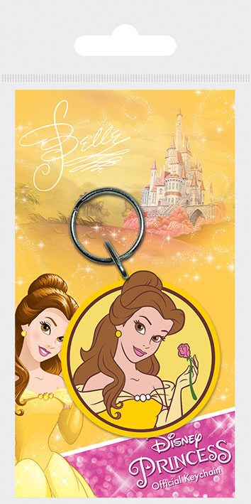 Disney Princess Rubber Keychain Belle 6 cm