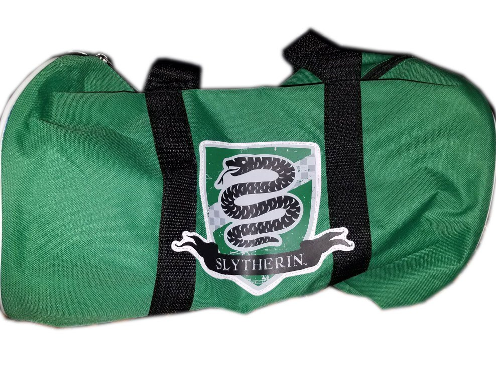 Harry Potter Duffel Bag Slytherin Lootcrate Exclusive