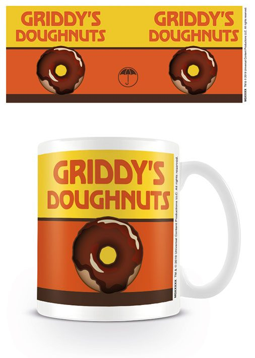 The Umbrella Academy Mug Griddys Doughnuts
