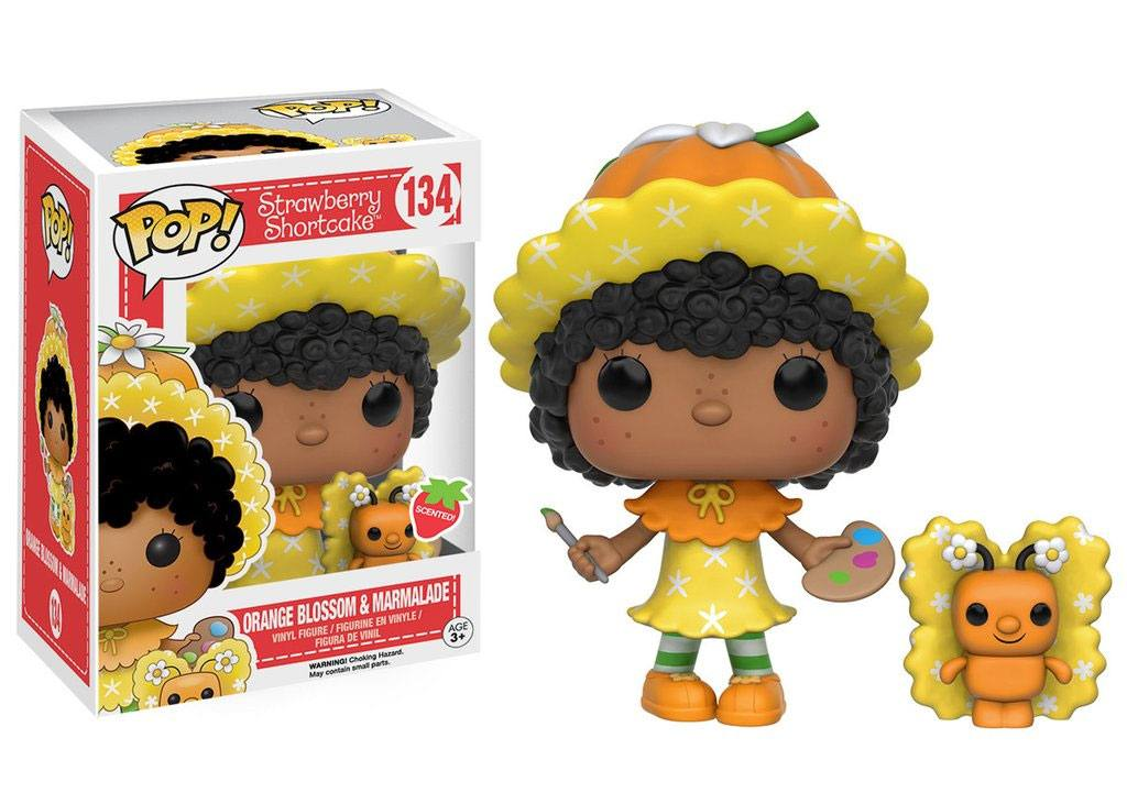 Strawberry Shortcake POP! Animation Vinyl Figure Orange Blossom & Marmalade 9 cm