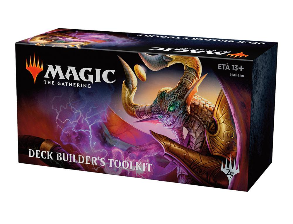 Magic the Gathering Set Base 2019 Deck Builder´s Toolkit italian