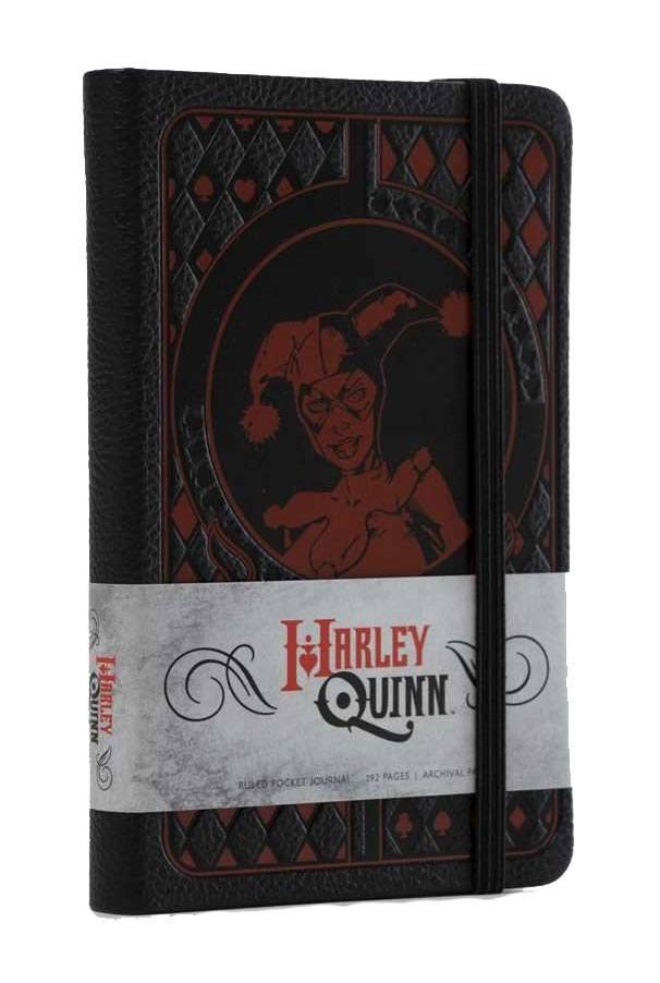 DC Comics Pocket Journal Harley Quinn