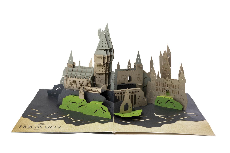 Harry Potter 3D Pop-Up Greeting Card Hogwarts Castle