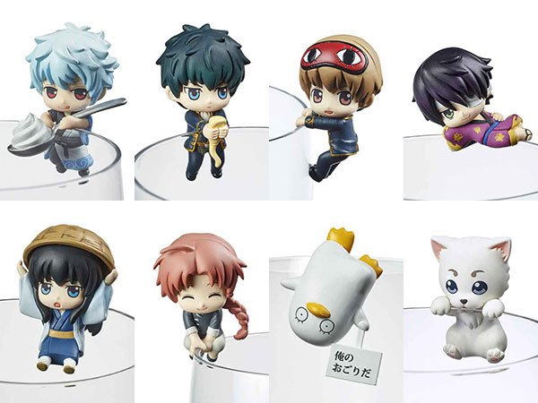 Gintama Ochatomo Series Trading Figure 5 cm Cafe Too Free 1.5 Ver. Assortment (8)